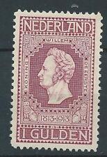 1913 NederlandTG Jubileumzegel  NR.98 Postfris  zie foto's mooie zegel