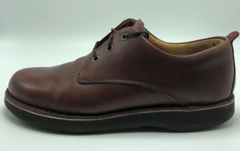Samuel Hubbard Men's M1100-007 Hubbard Free Leather Oxford shoes Size 10 M