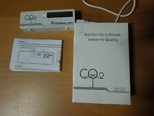 CO2 Meter, Mini CO2 Monitor Measure Carbon Dioxide, Temperature, Air Quality