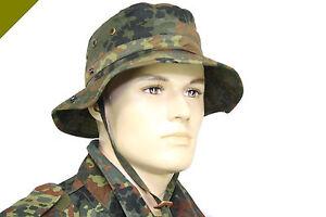 Kopfbedeckungen & Helme Offizielle Website Bw Original Bundeswehr Tropenhut MÜtze Hut Kappe Schutz Nato Angeln Piantball Freigabepreis