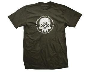 DHD Wear Smiley BMX T-Shirt Brown XX-Large Bike