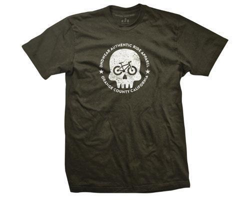 Dhd Wear Numbskull Mtb T-Shirt Military Green X-Large Bike