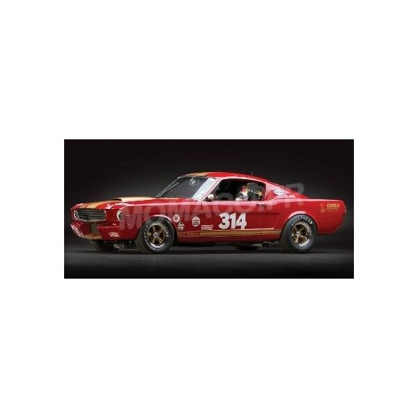 ACME - FORD MUSTANG SHELBY GT350 H TRANS AM 314 RENT A RACER 1966 1 18