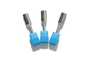 Fresas-rotativa-de-metal-duro-y-dentado-cruzado-punta-recta-M12-3-unidades