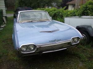1962 Ford Thunderbird Blanc perle