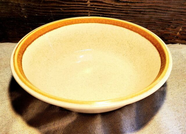 "Mikasa STONE MANOR 9.5"" Round Vegetable Pasta Serving Bowl MINT Condition! F5800"
