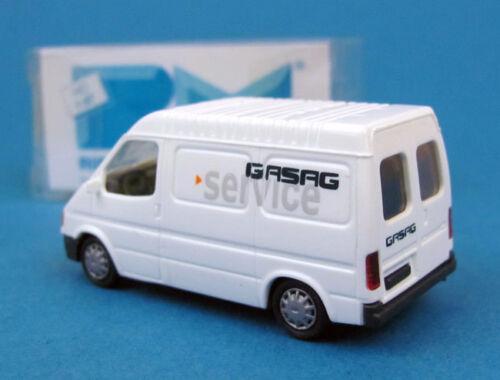 Rietze H0 30622 Ford Transit Kasten MD GASAG Service OVP HO 1:87 box