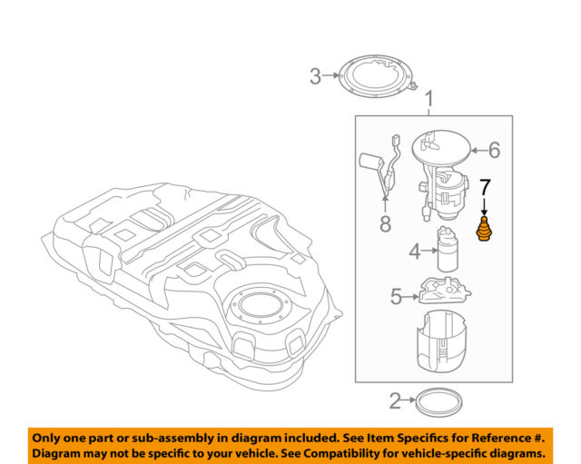 mazda oem 10-18 3-fuel injection pressure regulator l3m813280