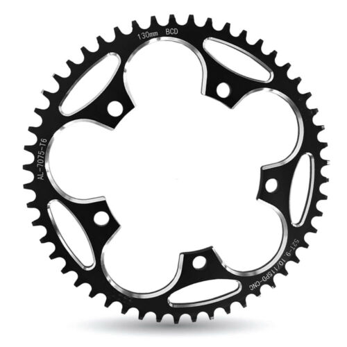 60T 130BCD Crankset  Chainring Plate Chainwheel Road Bicycle Narrow Wide 50T