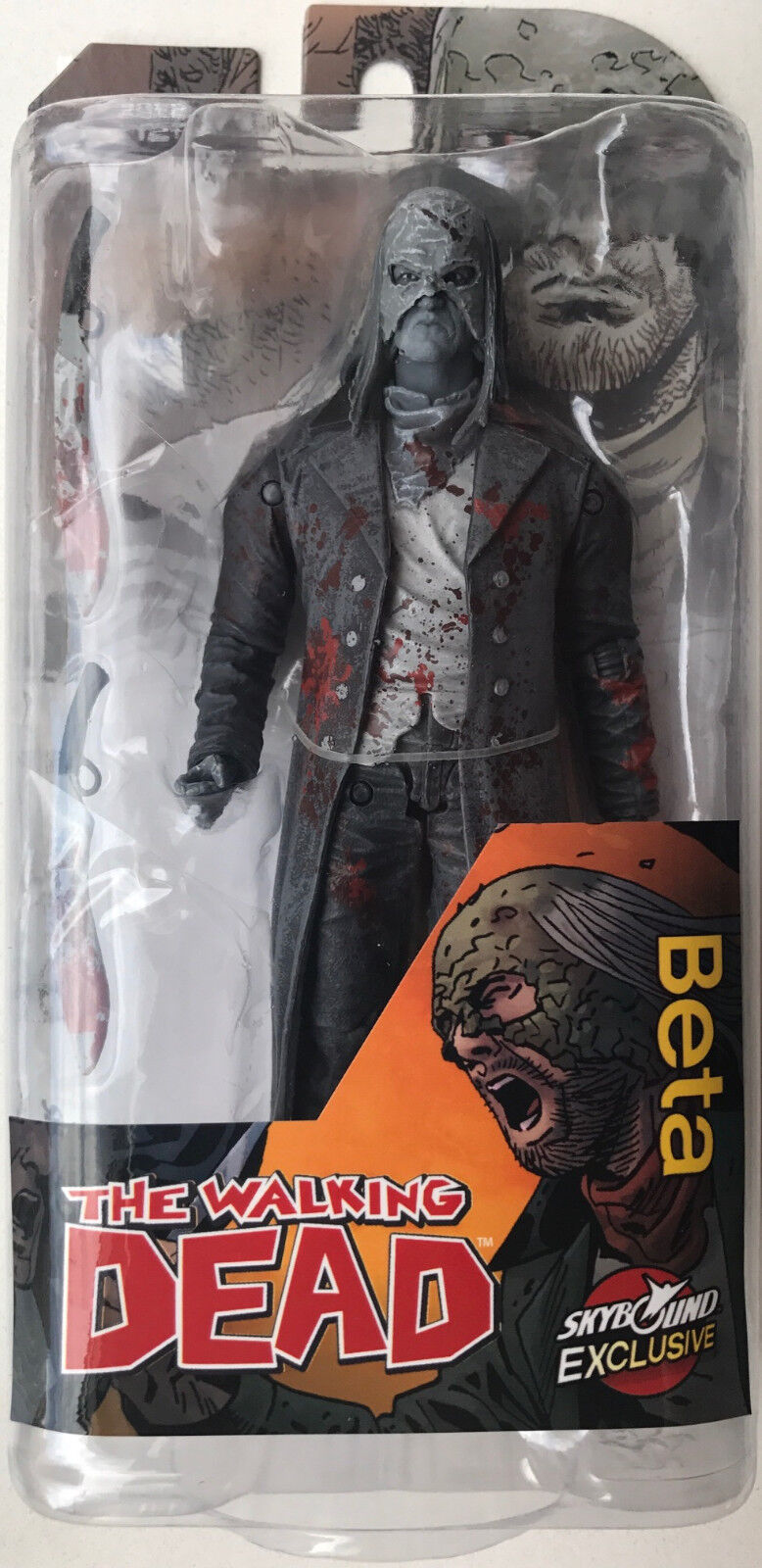 McFARLANE THE WALKING DEAD EXCLUSIVE BETA BLOODY 6  ACTION FIGURE NYCC 2017