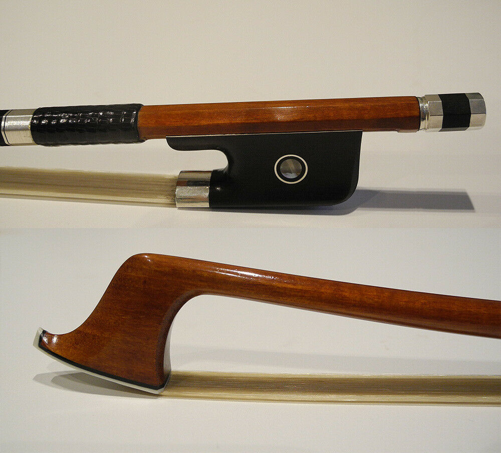 Meister Pernambuco Cello Bug ebony Frosch Silber Teile 4 4