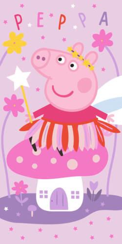 Peppa Wutz Handtuch 70x140 Baumwolle Mädchen Badetuch Strandlaken Duschtuch Pig