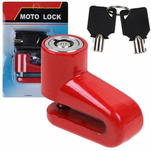 Bike Anti-theft Wheel Disc Brake Lock Security Alarm Motorcycle Bicycle Lock