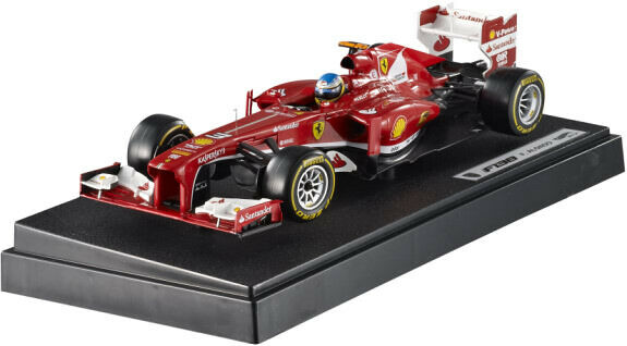 Ferrari F138 F.Alonso 2013 1 43 HotWheels BCK16