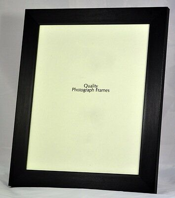 Quality Black Brushed Photo/Picture Frame 30mm wide - Various Sizes available