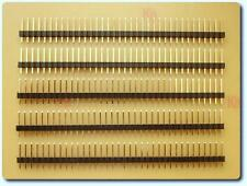 5x 36-Way Single Row Straight Pin Header PCB Connector
