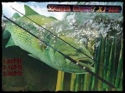 Razionale Canna Da Pesca A Spinning Vegabond Luccio Black Bass Trota Spigola Artificiali