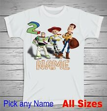 Woody /& Buzz Lightyear Power Play T-Shirt /_/_/_/_R8D Disney Pixar Toy Story Shirt
