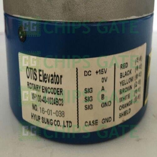 1PCS NEW OTIS ELEVATOR ROTARY ENCODER MH100-40-1024BO3 MH100401024BO3
