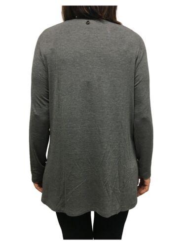 Unito shirt Fantasia Viscosa T 96 Grigio 4 Miro' elastan Più Elena Donna fpYwEnTfqU