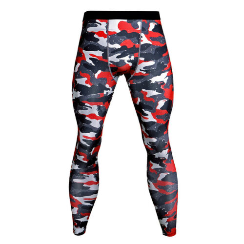 Mens Compression Tights Athletic Running Basketball Gym Moisture Wicking Pants