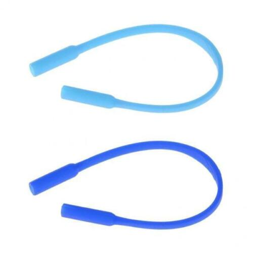 2x Silicone Kids Glasses Cord Eyeglass Holder Strap Band Retainers Rope