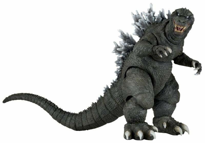 NECA Godzilla Figura De Acción [2001, monstruos gigantes ataque total]