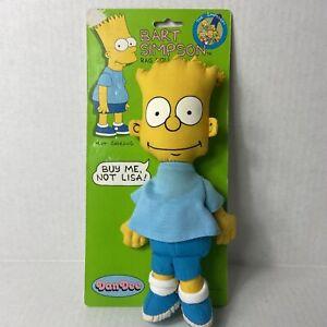 "Vintage 1990 Dan Dee The Simpsons Bart Simpson Collectible Rag Doll 10"""