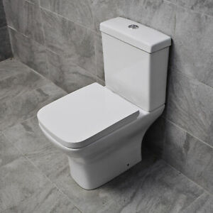 Hydros-Sindee-Rimless-Short-Projection-Toilet-Close-Coupled-Back-to-Wall-Seat