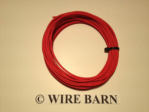 22 Awg Txl Red Automotive Wire High Temp 25 Feet We Have Many