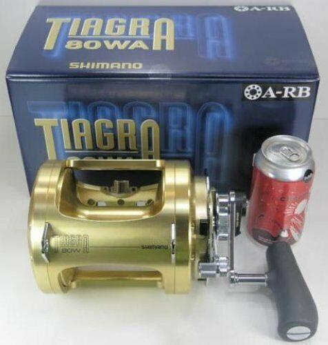 SHIMANO TIAGRA A BIG GAME TROLLING 2 SPD REEL TI130A