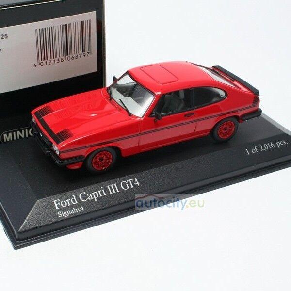MINICHAMPS FORD CAPRI III GT4 SIGNALred 400082225