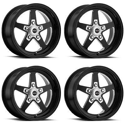 "15/"" Vision 571 Sport Star II Polished Wheel 15x8 5x4.5 0mm Ford Dodge 5 Lug Rim"