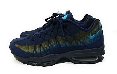 Nike Air Max 95 Ultra Jacquard Mens Running Shoes Navy Blue Size 9 | eBay