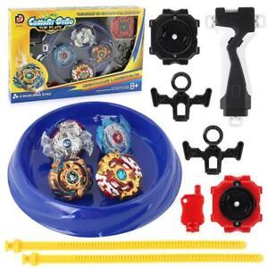 Metal Beyblade Burst Arena Set Gyro Fighting Gyroscope Launcher Spinning Toys UK
