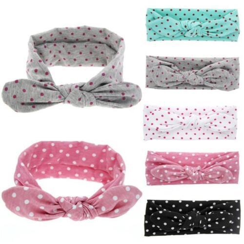 Baby Headband Girl/'s Hair Band Elastic Headband Rabbit Bowknot Headband Headwrap