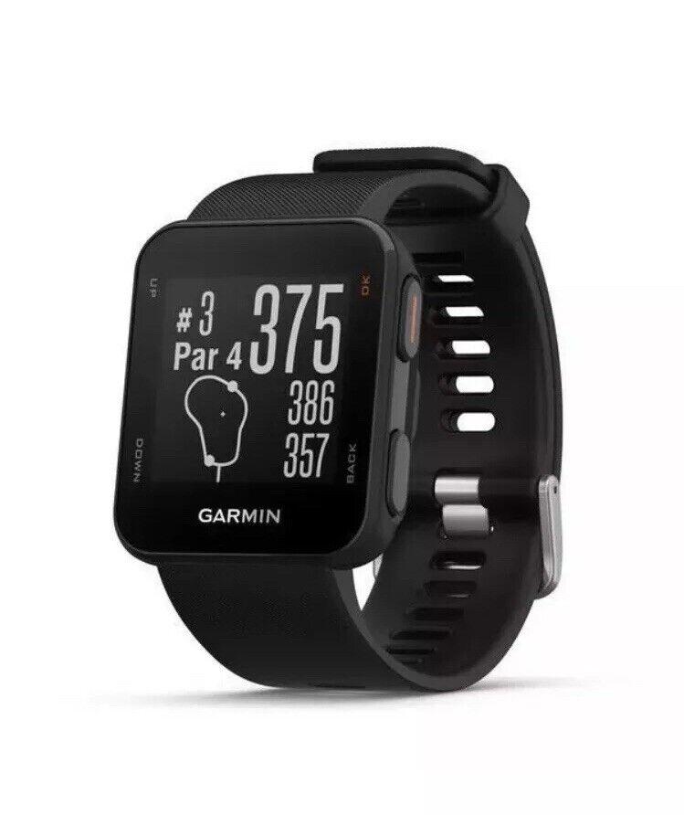 Reloj Gps Garmin enfoque S10-Negra Totalmente Nuevo Y Sellado