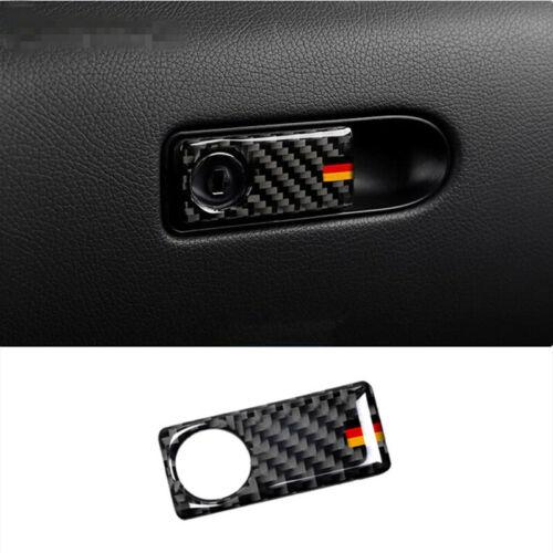 Carbon Fiber Storage Glover Box Frame Trim für Mercedes Benz GKL Class X204  A02