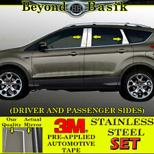 2013 2014 2015 2016 2017 Ford Escape 6pc STAINLESS STEEL Pillar Posts No keypad
