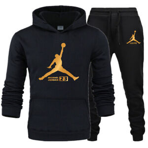 NEW-Mens-Michael-Air-23-Jordan-Tracksuit-Flight-Hoodie-amp-Pants-Men-Sportswear