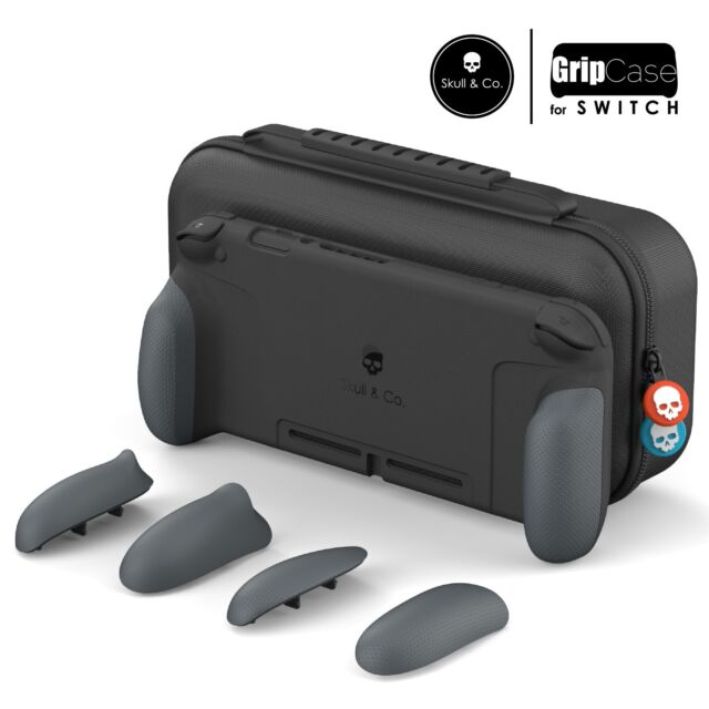 Skull & Co. GripCase Set: Ergonomic Grip Protective Case for NINTENDO SWITCH