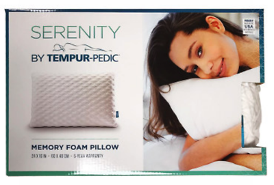 Tempur Pedic Memory Foam Bed Pillow 24