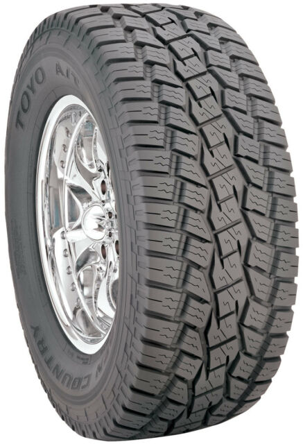 285 70 17 Toyo Open Country A T 126s Bw Suv Light Truck Tire Ebay