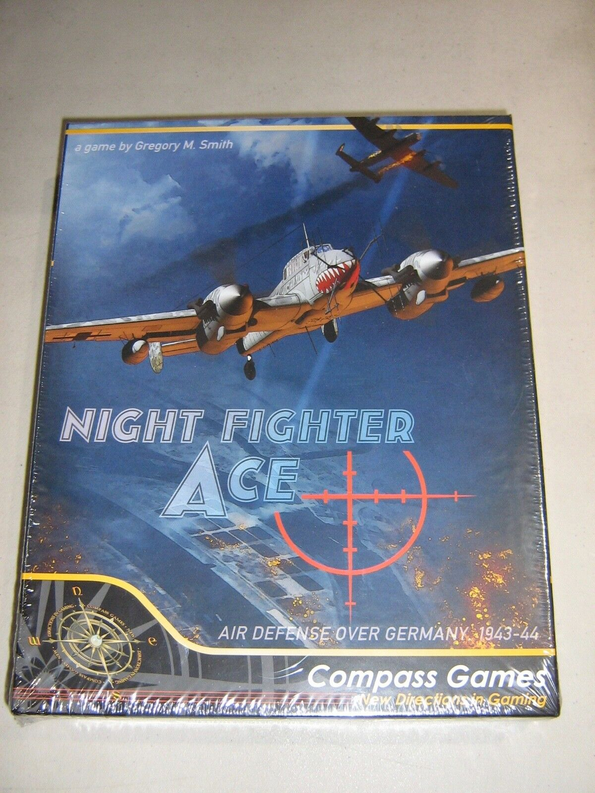 The Night Fighter Master Master Master  German Defence 1943 - 44 (New) 1f7