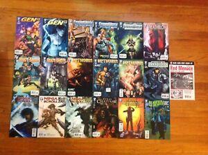 Wildstorm-Ninja-Scroll-Body-shots-Texas-Chainsaw-Massacre-Mixed-Comic-Book-Lot