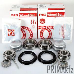 2x-FAG-713800010-Radlagersatz-hinten-links-rechts-Audi-80-90-Seat-Ibiza-Skoda