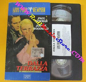 VHS-film-DALLA-TERRAZA-il-grande-cinema-di-Paul-Newman-FABBRI-VIDEO-F113-no-dvd
