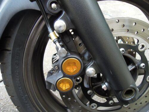 Yamaha XJR1300 XJR1200 Acier Inoxydable étrier De Frein Boulons 6 90105-10638
