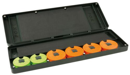 Fox F Box Magnetic Disc /& Rig Box System Large CBX081 Rigbox Tacklebox Box