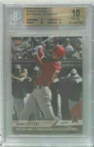 Shohei Ohtani 2018 Topps Now Spring Training Rookie RC #ST7 BGS 10 Pristine hot